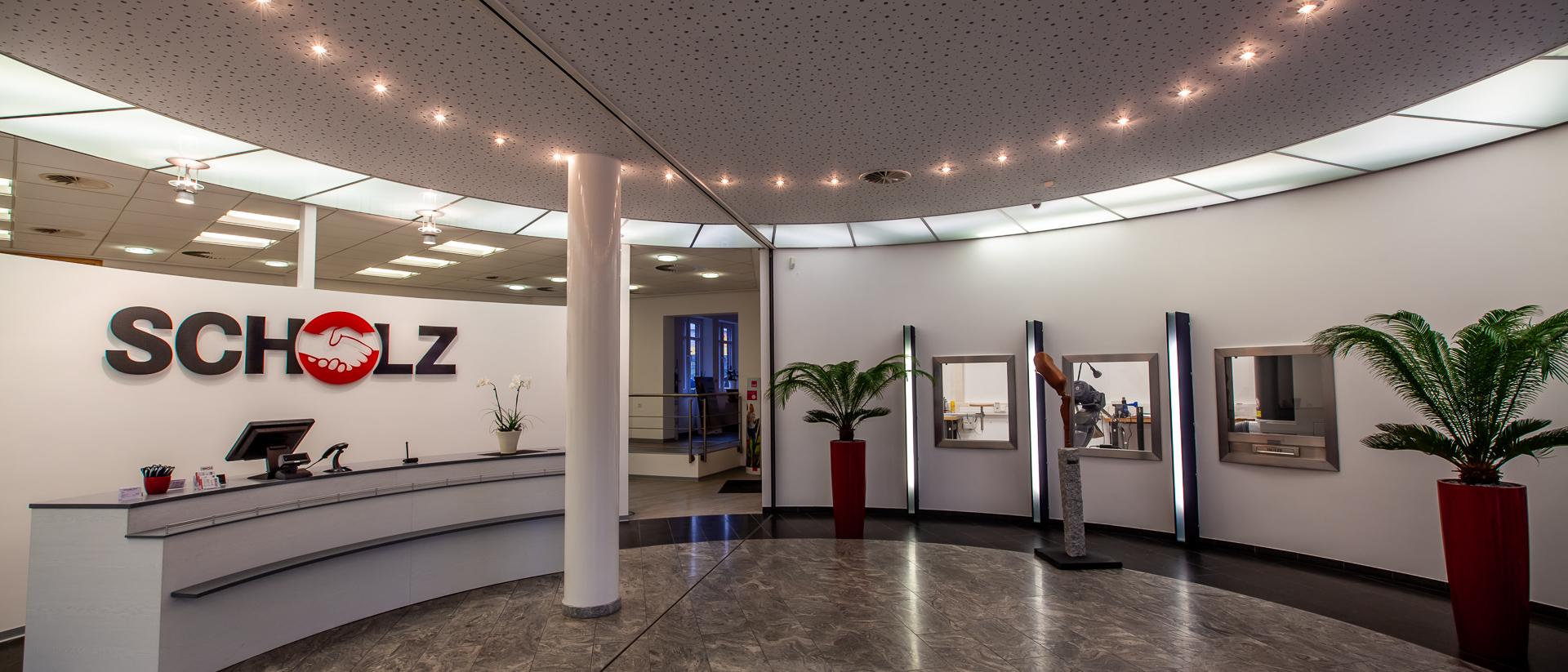 Unser Eingangsbereich / Scholz Orthopädietechnik & Sanitätshaus