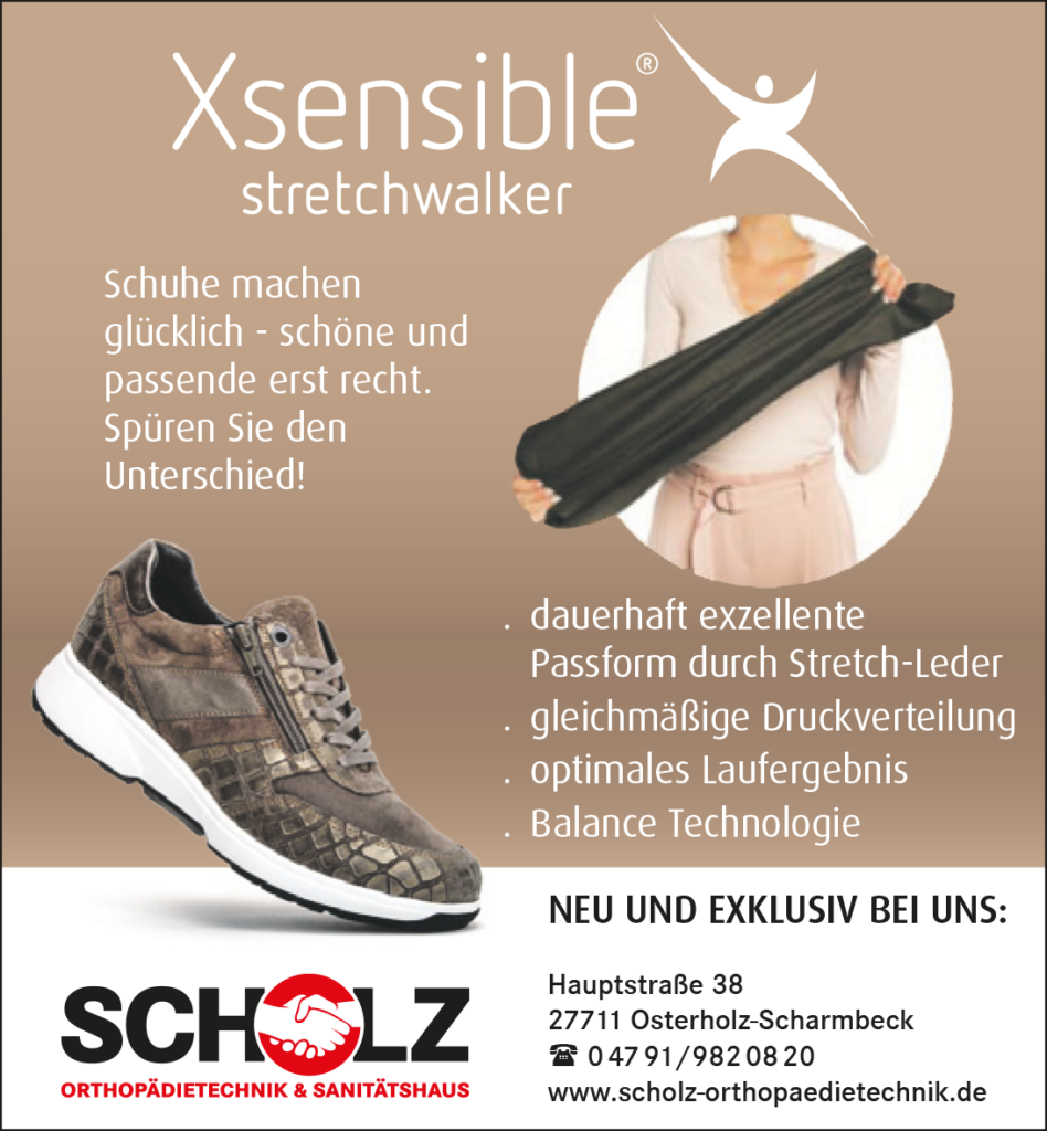 Scholz Orthopädietechnik & Sanitätshaus / Xsensible Stretchwalker